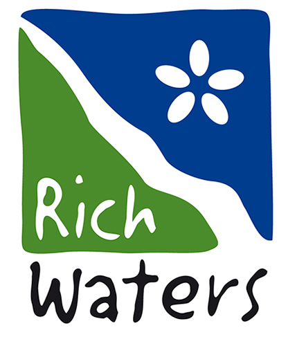 Logotyp för projektet LIFE IP Rich Waters.